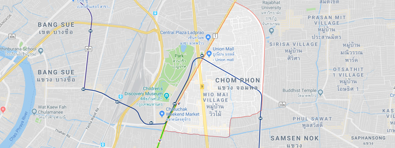 Chom Phon District