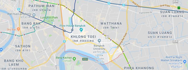 Khlong Toei District