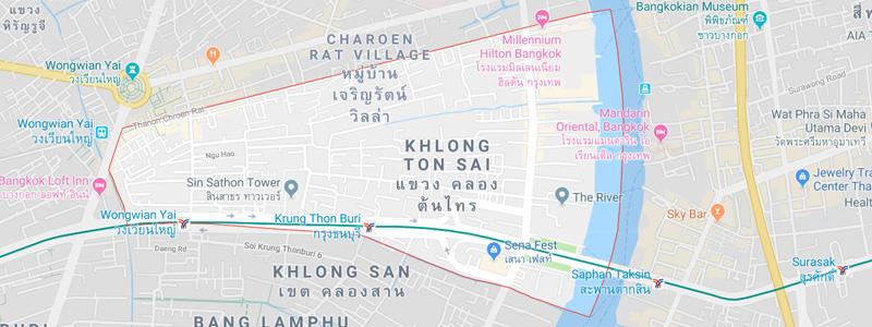 Khlong Ton Sai District